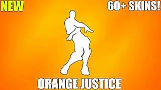 FORTNITE ORANGE JUSTICE EMOTE (1 HOUR)