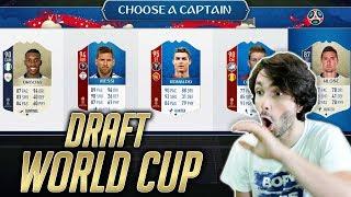 SVJETSKO PRVENSTVO DRAFT!! FIFA 18 RUSIJA WORLD CUP MODE