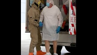 TX Zogster Lookin' Sharp & Macho In His New Ebola Suit-Scroll To 35 Seconds