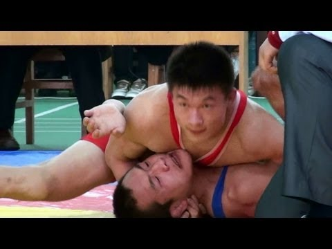 Freestyle Wrestling China - PIN? Image 1