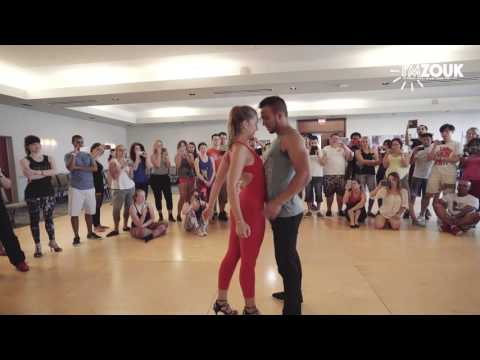 Layssa and Arthur - I'm Zouk 2016 - Miami  Demo Sunday