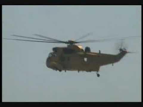 LOWESTOFT AIR SHOW 2008 *RAF/RNLI SEA KING & LIFEBOAT*