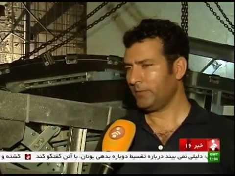 Iran Tehran 4th Metro line under constraction خط چهارم مترو تهران در دست ساخت ايران