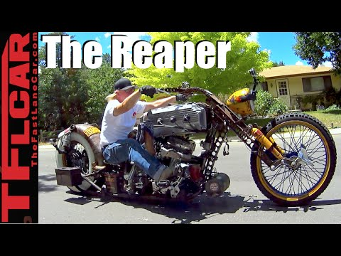 Don't Fear The Reaper: A Story of a Man & His Life & His Crazy Cool Custom Bike