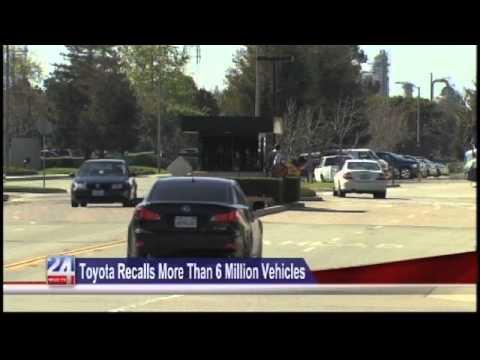 Toyota recalls more than 6 million vehicles