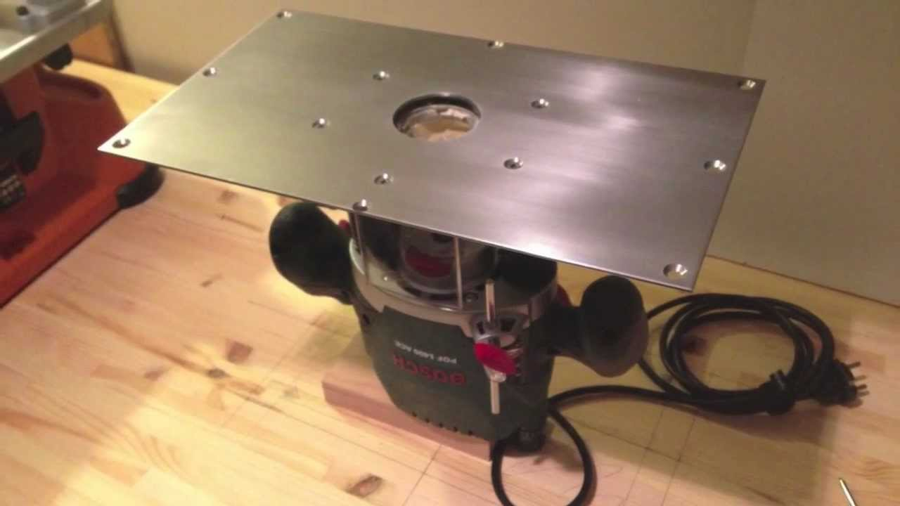 Diy bench router build your own part 2 homemade youtube - Defonceuse bosch pof 1400 ace ...