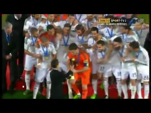 Real Madrid Crowned Champions of FIFA Club World Cup 2014 (full video) 20/12/2014