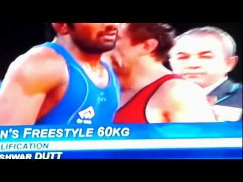 Yogeshwar-Dutt-Qualifying-Round-Video-Mens-60kg-Freestyle-Wrestling-London2012-Olympics