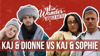 Kaj & Sophie VS Kaj & Dionne | #1 Destination Challenge - Wander World Battle