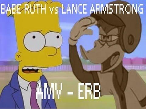 Babe Ruth vs Lance Armstrong - Epic Rap Battles of History Season 2 - AMV - HD