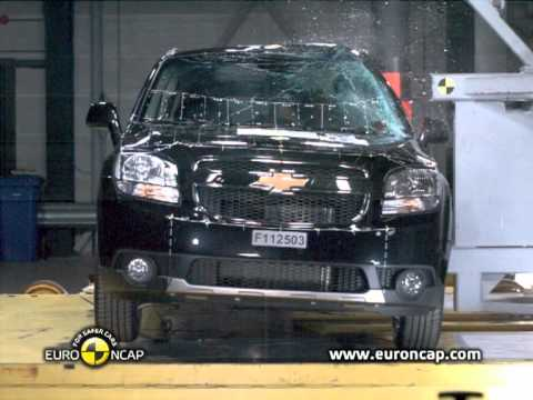 Euro NCAP | Chevrolet Orlando | 2011 | Краш-тест