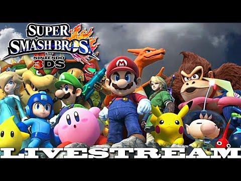 Super Smash Bros. for Nintendo 3DS Livestream (9-17-14)