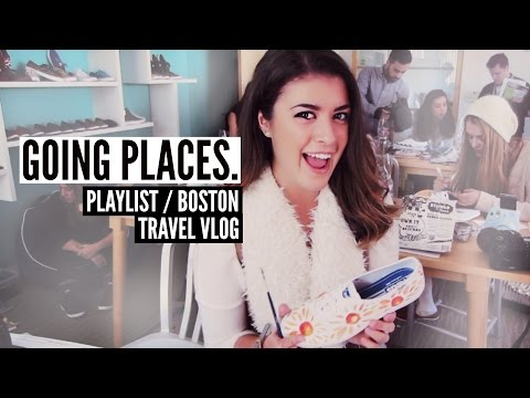 GOING PLACES. | Playlist Live & Boston Travel Vlog