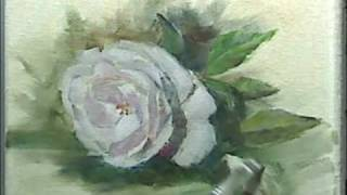 "Oil Painting ""Rose"""