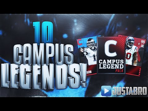 10 Campus LEGEND Packs! - Madden Mobile