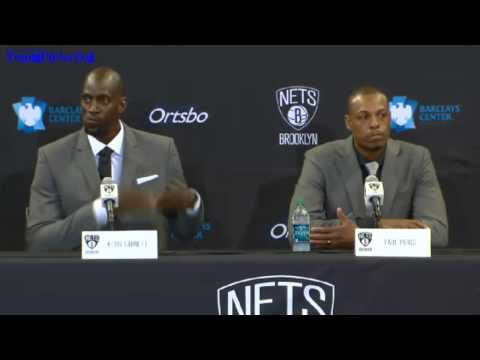 Kevin Garnett, Paul Pierce, Jason Terry Brooklyn Nets Full Press Conference [HD]