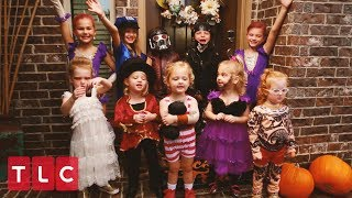 The Quints Go Trick-or-Treating as Circus Characters! | OutDaughtered