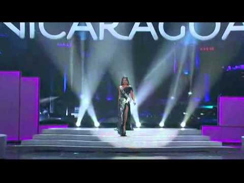 Adriana Dorn - Miss Nicaragua Universe 2011 - Preliminares
