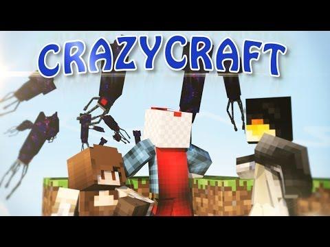 Minecraft | CrazyCraft - OreSpawn Modded Survival Ep 74 -