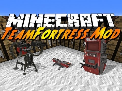 Minecraft Mods - Team Fortress 2 Mod