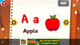 Learn ABC Alphabet With Marbel Alphabet Educational games for kids - part 2