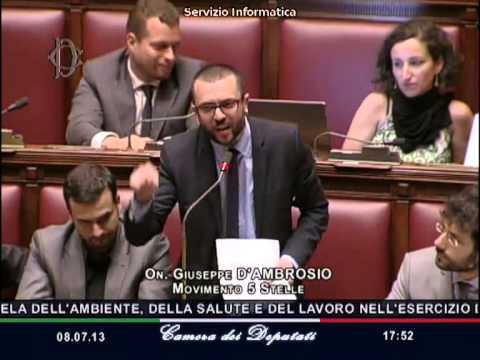 "8/7/2013 Giuseppe D'Ambrosio ""Sel-Pd-Pdl responsabili del dramma Ilva"""