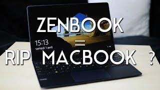 ULTRABOOK = LE COMPAGNON IDÉAL ?? - Test Asus Zenbook 3 UX390UA [Review]