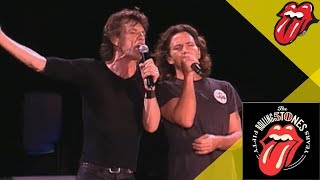 The Rolling Stones Video - The Rolling Stones & Eddie Vedder - Wild Horses - Live OFFICIAL