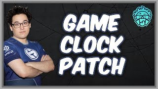"""Swim's initial impressions the Artifact """"game clock"""" patch"""