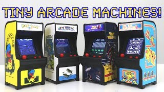 TINY ARCADES - World's Smallest Playable Mini Arcade Games | UNBOXING & LETS PLAY!
