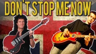 Queen - Don't Stop Me Now Guitar Solo Lesson (With Tabs)