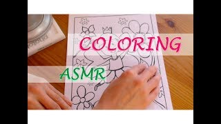 ASMR | 🎨 OVER 1 HOUR COLORING (AUSMALEN) & RAMBLING (ERZÄHLEN) | WHISPERED