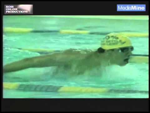 Michael Phelps from the Before They Were Pros Collection