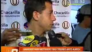Convenio entre Clínica Chacarilla y Universitario de Deportes en Canal N