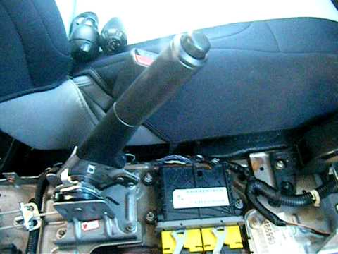 08 Jeep Wrangler Replaceing Hand Brake Assembly Part 3 Of