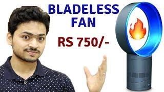 Cheap Bladeless Fan   Unboxing & Review   Tech Unboxing 🔥