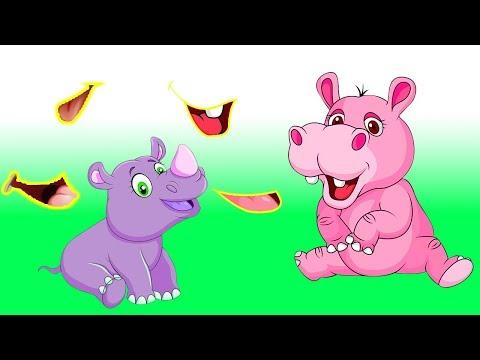 Tiere lernen für Kinder | tiergeräusche für kleinkinder | tiere auf deutsch lernen