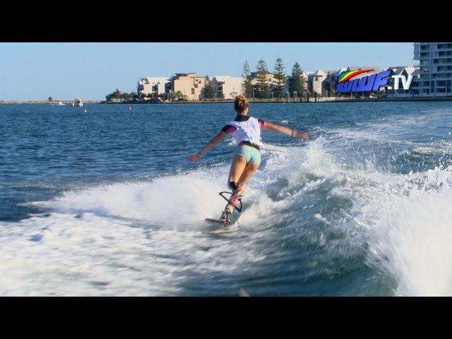 Pro Trick ski finals report - IWWF World Cup, Mandurah WA