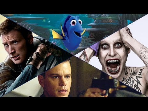 2016 Summer Movie Preview: Captain America 3 To Suicide Squad