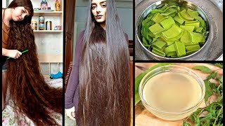 Just Apply This Oil To Your Scalp & Grow Extremely Long Hair & Stop Extreme Hair Fall