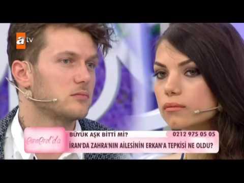 Erkan ve Zahra canlı yayında Esra Erol'a şaka yaptılar! - atv