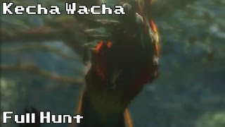 Hunting a Kecha Wacha | Full Hunt | Monster Hunter 4 Ultimate