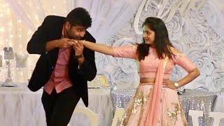 Nani Divya Telugu song couple dance performance
