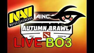 Dota 2 LIVE [EN] NaVi vs Team Secret BO3   Maincast Autumn Brawl