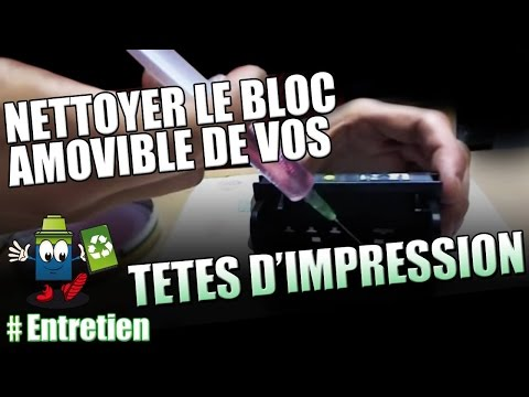 comment nettoyer tete d'impression