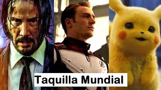 John Wick destrona a Avengers Endgame que ya supera a Avatar y Detective Pikachu roza los 300 M.