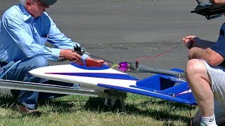 VERY LOUD AND FAST PULSO JET SPEED FLIGHT DEMONSTRATION