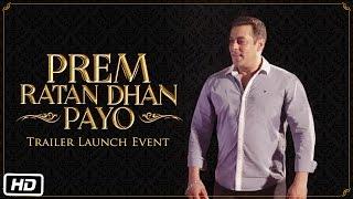 Official Trailer Launch Event | Prem Ratan Dhan Payo - Fans and Families Meet Prem