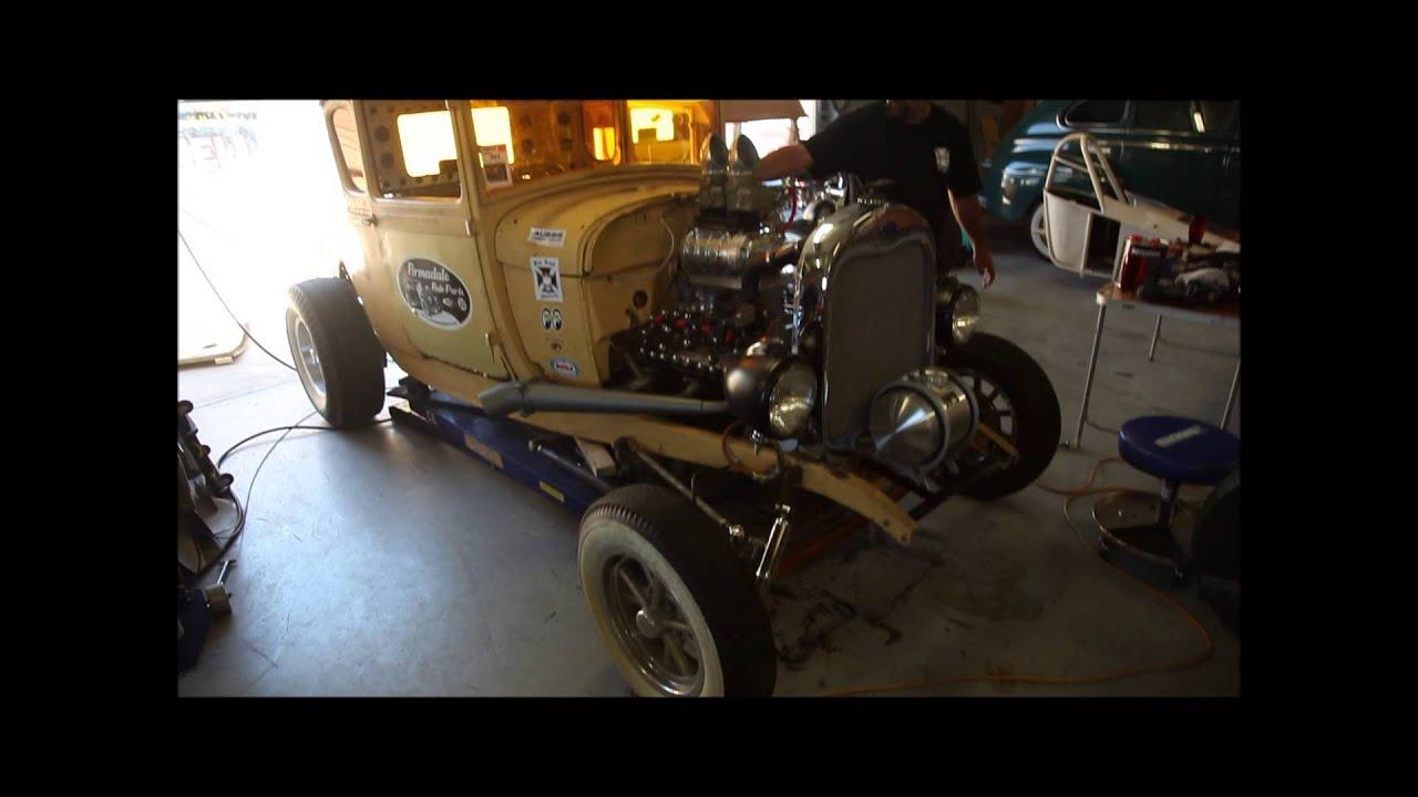 Gasser Models Model a Gasser Coupe Blown