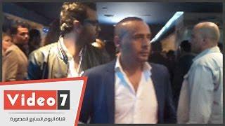 بالفيديو.. منذر رياحنة ومحمود عبد المغنى بالعرض الخاص لـ